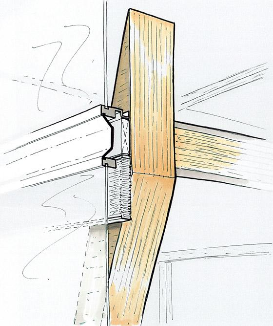 assemblage bois - tour silva