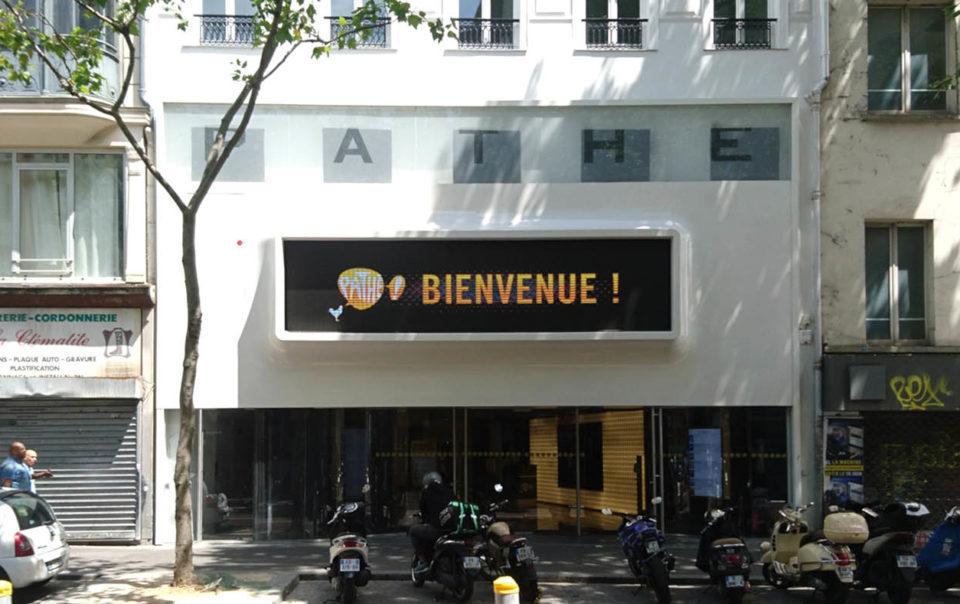 Cinema Clichy_facade elioth