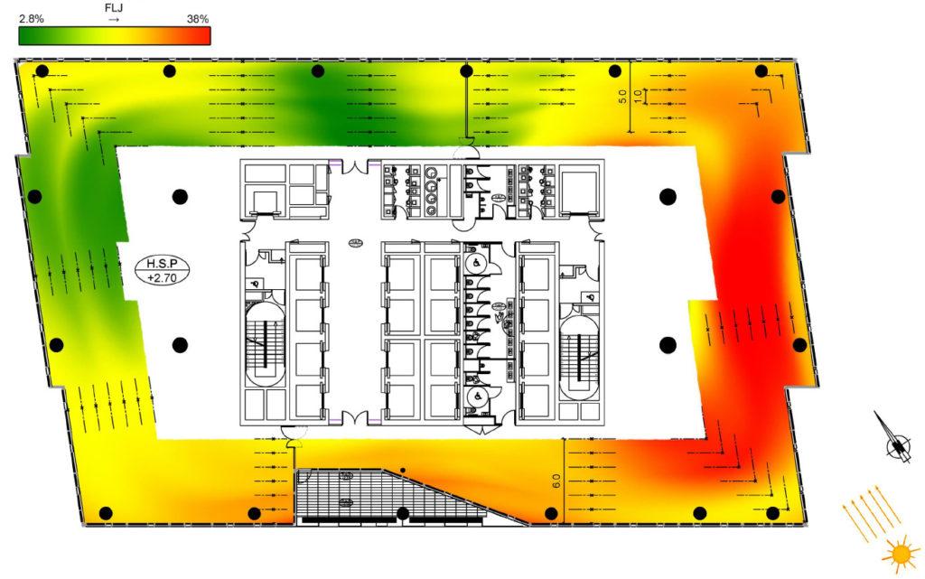 conception environnementale de la tour Majunga