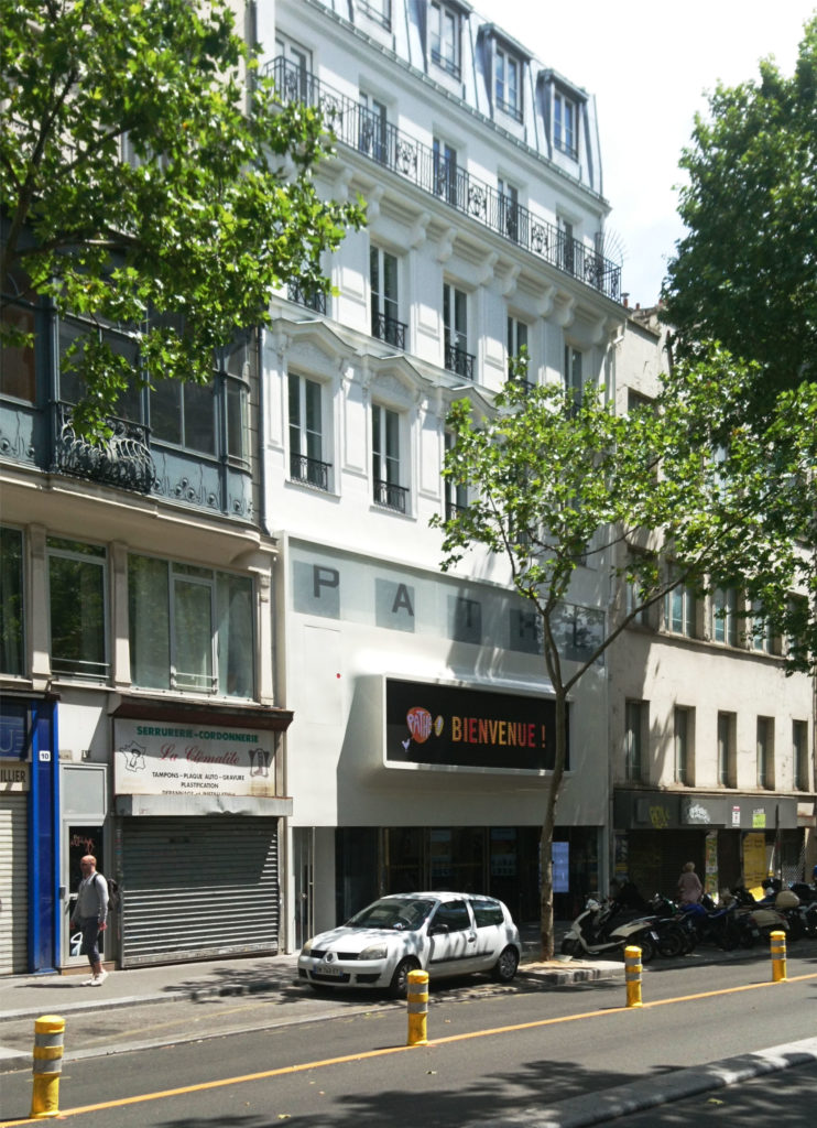 Cinema Pathe - facade elioth